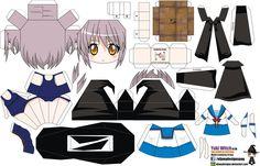 Yuki Nagato Witch (Joey's Chibi Girls 017B) by ELJOEYDESIGNS on DeviantArt