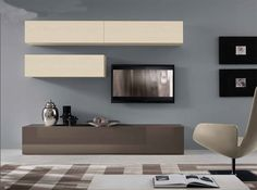 Modern Italian Wall Unit VV 3942 - $2,635.00