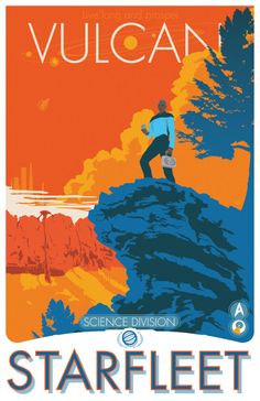 Star Trek Posters - Created by Damon Boreing Available for sale at his Etsy Shop.