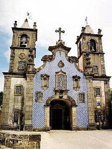 [Azulejo] A form of Portuguese painted, tin-glazed, ceramic tile work. It has become a typical aspect of Portuguese culture, having been produced without interruption for five centuries. There is also a tradition of their production in former Portuguese and Spanish colonies in Latin America.
