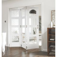 Order online at Screwfix.com. White slide and fold room divider, providing a functional and practical way to open up your living space. FREE next day delivery available, free collection in 5 minutes.