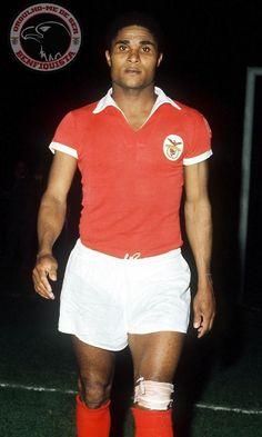 Eusébio (late) Football (striker) Benfica and Portugal