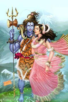 Kali Hindu, Hindu Art, Shiva Parvati Images, Krishna Images, Shiva Shankar, Lord Mahadev, Lord Shiva Hd Wallpaper, Lord Shiva Family, Shiva Art
