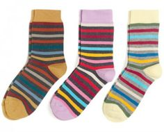 Not only love these socks, but profits go to an amazing organization to employ at-risk women in Detroit.
