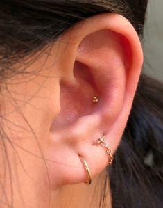 Tiny Gold Star cartilage Earring Helix Hoop Piercing Star Helix Hoop Helix Earring Hoop Cartilage Hoops Cartilage Hoop Earing D E T A I L S Helix Earrings Hoop, Cartilage Jewelry, Helix Hoop, Cartilage Hoop, Triangle Earrings, Ear Jewelry, Cute Jewelry, Women Jewelry, Jewellery