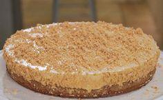 Torta mousse de doce de leite com paçoca é combinação imbatível