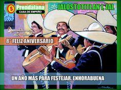 feliz día Jalostitlan, JAL y Felicies fiestas!