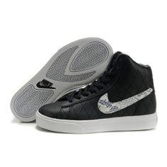 Super Fashion Nike Kids Canvas schoenen enkel hoge zwarte Nike kinderen schoenen schoenen kinderen - \u20ac73.19