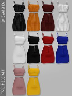 I'm a custom content creator for The Sims Sims 4 Teen, Sims Four, Sims 4 Toddler, Sims Cc, Teen Fashion Outfits, Mode Outfits, Retro Outfits, Sims 4 Outfits, Club Outfits
