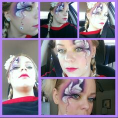 Flower power look for work