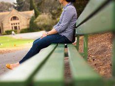 Gingham button-down shirt   bangle bracelets   skinny ankle jeans   mustard yellow flats   gray crossbody   www.shoppingmycloset.com        @target #target @gap #gap @marcjacobs #marcjacobs @kohls #kohsl