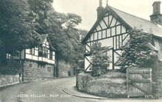 Caldy Village, West Kirby - Vintage Postcards of the UK