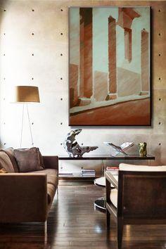 Ambientes adaptados com pinturas de João Feijó-Art » Environments adapted wiht paintings by Art-João Feijó