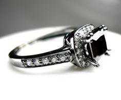 Black Diamond Black Gold Ring