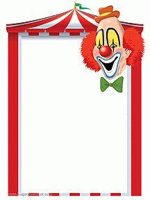 Papier à lettre à imprimer, cirque et clown Decoration Cirque, Circus Art, Disney Coloring Pages, Printable Labels, Mardi Gras, Portal, Preschool, Classroom, Animation
