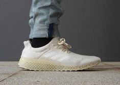 Here's an On-Foot Look at the 3D-Printed adidas Futurecraft.