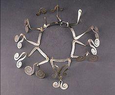 Necklace |  Alexander  Calder.  c. 1945  Silver wire