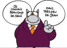 Geluck et le Chat Auguste Derriere, Birthday, Funny, Husky Jokes, Comics, Comic, Porcelain, Laughing, Birthdays
