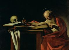 Caravaggio - St Jerome Writing
