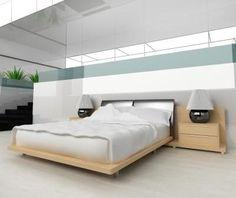 Mattress in bedroom.