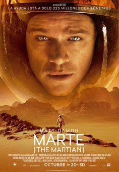 A great poster from Ridley Scott's epic 2015 sci-fi movie The Martian! Matt Damon is astronaut Mark Watney who tries to survive being stranded on Mars. Need Poster Mounts. Space Movies, Sci Fi Movies, Action Movies, Films Cinema, Cinema Posters, Best Movie Posters, See Movie, Movie Tv, Internet Movies