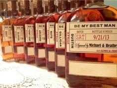 Will you be my Groomsman - Wedding Groomsman Liquor Labels - Will you be my Best Man - Groomsmen Labels