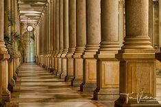 Beautiful Colonnade in Karlsbad Czech Republic. check out our Photo tours in Czech Republic : http://ift.tt/2mY1snX