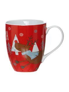 Xmas Rudolph boxed mug