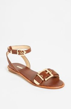 Yes to this buckle sandal.