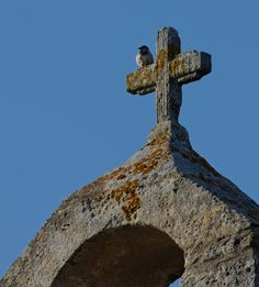 Tower of the old farm chapel of Punchuat (Algaida), Mallorca