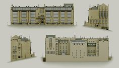 An animated model exploring the design and construction of the Glasgow School of Art building by Charles Rennie Mackintosh Glasgow School Of Art, Art School, Charles Rennie Mackintosh, Mackintosh Design, Art Nouveau, Art Deco, Constructivism, Garden Architecture, Grand Designs