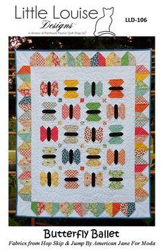 Crib Quilt Pattern  Butterfly Ballet Baby Quilt Pattern House Quilts, Baby Quilts, Butterfly Quilt, Tiny Dancer, Baby Cribs, Pattern Making, Quilt Blocks, Quilt Patterns, Ballet
