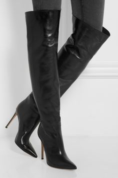 Gianvito RossiLeather knee bootsfront