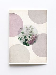Greeting card by Sophie Klerk, 'flowers' Indigo Prints, Glassine Envelopes, Cellophane Bags, Paper Goods, Collage Art, I Shop, Stationery, Greeting Cards, Pure Products