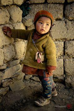 Padum child, Himalayas, Tibet