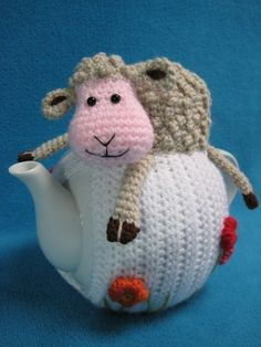 Teacosy Sheep Spring Easter Animal Tea Cosy Home di Millionbells