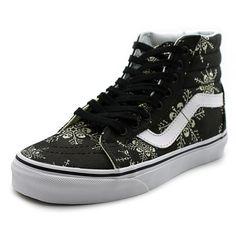 Vans Sk8-Hi Reissue Women US 7 Black Sneakers 3279 #Vans #Trainers
