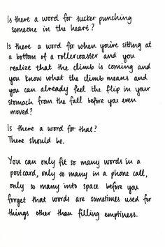 Sarah Kay, Postcards(x)