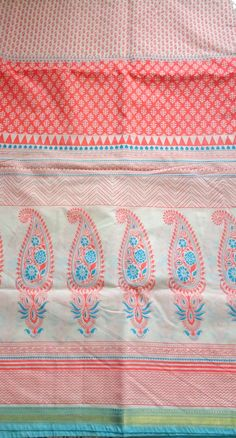 This beautiful cotton fabric is perfect for any kind of sewing projects. Use this fabric for quilting, dresses, bags, etc. The fabric is printed