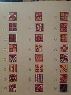 Mosaic Patterns, Textile Patterns, Print Patterns, American Style Tattoo, Inca Art, Peruvian Textiles, Native American Fashion, Tapestry Weaving, Art Studies