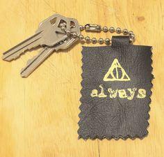 diy harry potter keychain