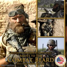Bikers of America salute the Combat Beard and spirit of brotherhood within the Special Forces - Go Green Berets!