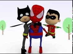 Spiderman Batman n Hulk Kids Story - Parodi of Super Hero  BTW,I am Leon from China,and I will be a resident one here.Need anything Such as 50 sets kids superhero capes and masks,go to http://www.aliexpress.com/item/1-Cape-1-Mask-kids-superhero-capes-Halloween-black-super-hero-cape-Superman-Spiderman-for/32369092054.html