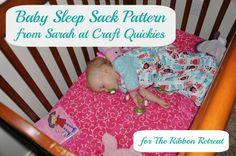 Sleep Sack Tutorial - The Ribbon Retreat Blog