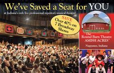 The Red Barn Theatre  I'm so excited that Angie will be joining the company at The Red Barn Theatre for the 2013 season!
