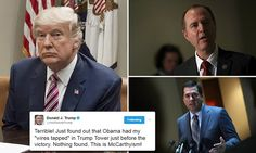 Donald Trump must provide proof that Barack Obama ordered a wiretap on him during his presidential campaign by Monday, a bipartisan House intelligence committee group has said.