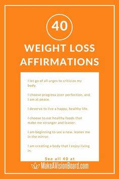 Weight loss affirmations are essential in winning the mind game. Train your brain by using these affirmations in words and pictures to help you lose those extra pounds and keep them off! Healthy Foods To Eat, Healthy Life, Making A Vision Board, Confidence Tips, Train Your Brain, Mind Games, I Deserve, Choose Me, Positive Affirmations