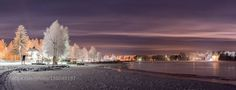Oulujoki at night http://ift.tt/1PwaAJe OuluSnowbeautifulbeautycitycoldcolorfulcolorsfinlandforestfrostylightnightreflectionriverriverviewsnowtraveltreetreeswaterwhitewintericepurple