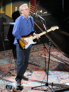 "Eric Clapton ""an my guitar gently weeps"""