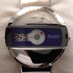 BARBIZON jump hour watch